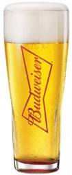 Budweiser Glass Pint